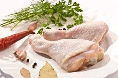 Piernas de pollo Fotos de archivo