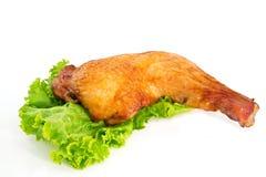 Piernas de pollo asadas Foto de archivo libre de regalías