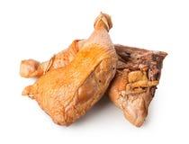 Piernas de pollo cocinadas Imagen de archivo
