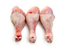 Piernas de pollo sin procesar Fotografía de archivo libre de regalías