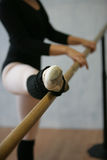 Piernas del bailarín Foto de archivo libre de regalías