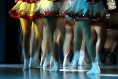 Piernas del baile Imágenes de archivo libres de regalías