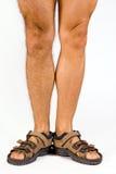 Piernas masculinas Fotografía de archivo libre de regalías