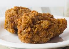 Piernas picantes Fried Chicken Imágenes de archivo libres de regalías