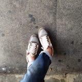 Piernas y pies Imagen de archivo
