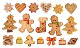 piernikowi Bożych Narodzeń ciastka Zdjęcie Royalty Free