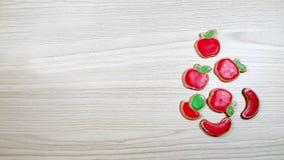Piernikowi domowej roboty ciastka zdjęcia stock