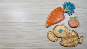 Piernikowi domowej roboty ciastka obraz royalty free