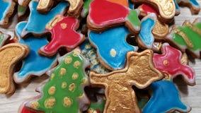 Piernikowi domowej roboty ciastka obrazy royalty free