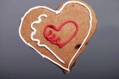 Piernikowy Bożenarodzeniowy kierowy ciastko. obraz stock