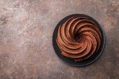 Piernikowy Bundt tort Obrazy Stock