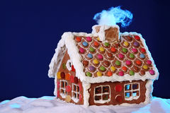 piernikowy domowej roboty dom Fotografia Stock