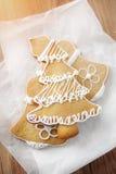 Piernikowy drzewa ciastka tort Zdjęcie Royalty Free