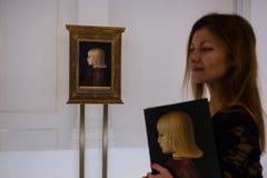 Piero della Francesca royaltyfri fotografi