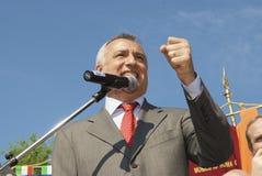 Piero Marrazzo Voorzitter van het Lazio gebied Stock Foto