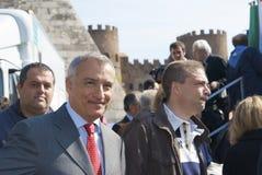 Piero Marrazzo Voorzitter van het Lazio gebied Royalty-vrije Stock Fotografie