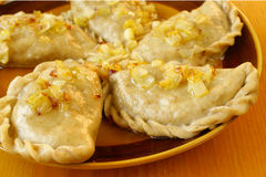Pierogi Stock Photography