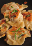 Pierogi (dumplings) Stock Photography