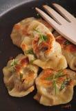 Pierogi (dumplings) Royalty Free Stock Images