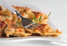 Pierogi (dumplings) Stock Photo