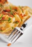 Pierogi (dumplings) Stock Photography