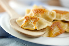 Pierogi.Polish christmas dish Stock Images