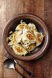 Pierogi. Polish Cuisine Royalty Free Stock Photography