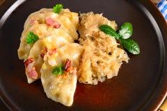 Pierogi.Polish  dish Royalty Free Stock Images