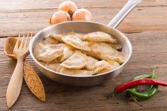 Pierogi.Polish dish Royalty Free Stock Photos