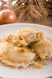 Pierogi.Polish dish Stock Images