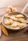 Pierogi.Polish dish Stock Photos