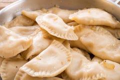 Pierogi.Polish dish Stock Image