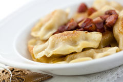 Pierogi.Traditional Polish Christmas Dish Stock Images