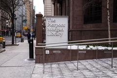 Pierpont Morgan Library Museum NYC Photographie stock