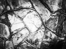 Pierre abstraite de marbre de fond noire et blanche photo stock