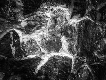 Pierre abstraite de marbre de fond noire et blanche image stock