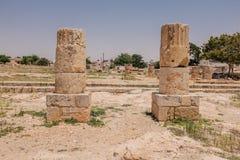 Pierre antique dans le temple de la Chypre Photos stock