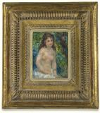 Pierre-auguste Renoir-petit Baigneuse photos stock