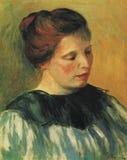 Pierre -Pierre-auguste Renoir - tte DE Femme vector illustratie