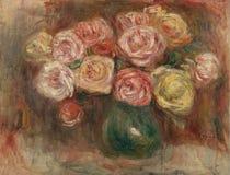 Pierre-auguste Renoir-vase DE Fleurs2 stock foto