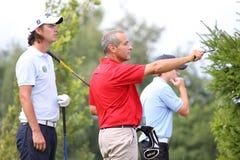 Pierre Bernis bij het golf Prevens Trpohee 2009 Stock Afbeelding
