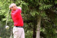 Pierre Bernis no golfe Prevens Trpohee 2009 Imagem de Stock
