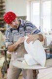 Pierre blanche polonaise de sculpteur Photo stock