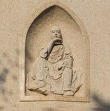 Pierre découpée par caractères de mythe Images libres de droits