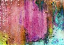Pierre d'abrégé sur couleur d'Aqua Photographie stock libre de droits