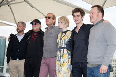 Pierre d'Emma, Andrew Garfield et Marc Webb Photo libre de droits