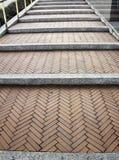 Pierre d'escaliers de ciment Photos stock