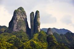 Pierre d'horizontal de montagne photographie stock