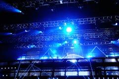Pierre David Guetta se realiza en la BOLA el 15 de julio de 2012 en Benicassim, España Fotos de archivo