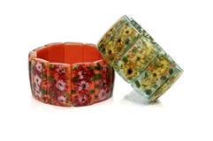 pierre de bracelets Photos stock